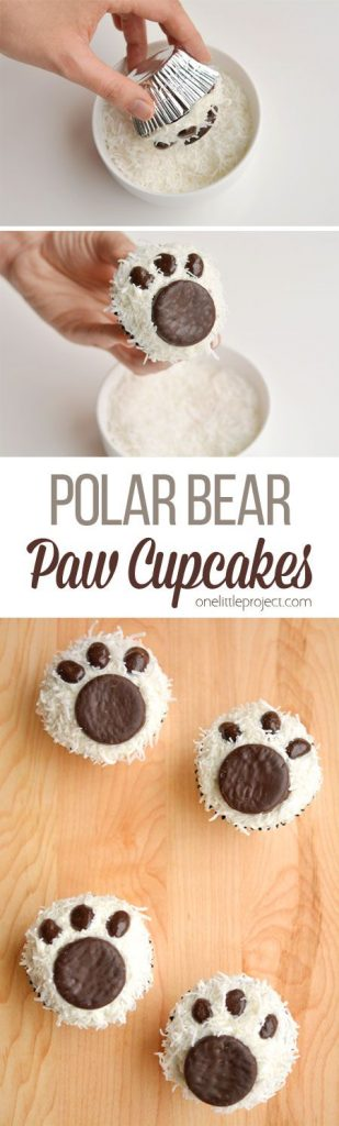 This Christmas treat for the children is ADORABLE and you can use store bought cupcakes!