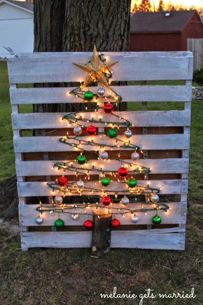 Wow! This Christmas Tree is going to look AMAZING on the front lawn - and it