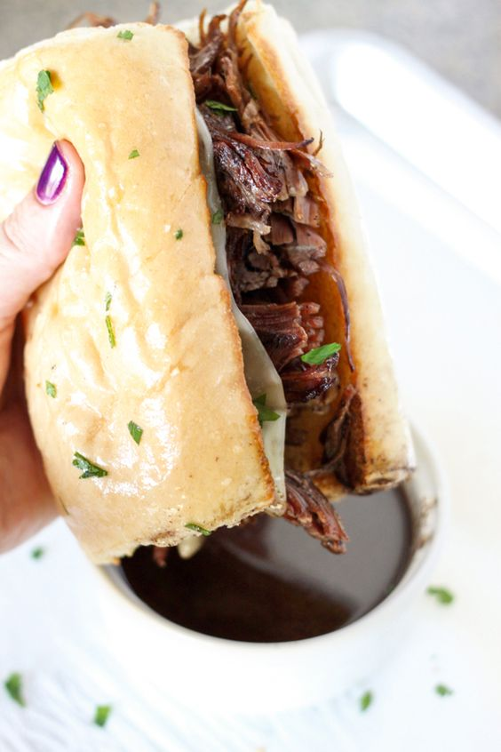 These French Dip Sandwiches are FABULOUS - all thanks to the Insta Pot!