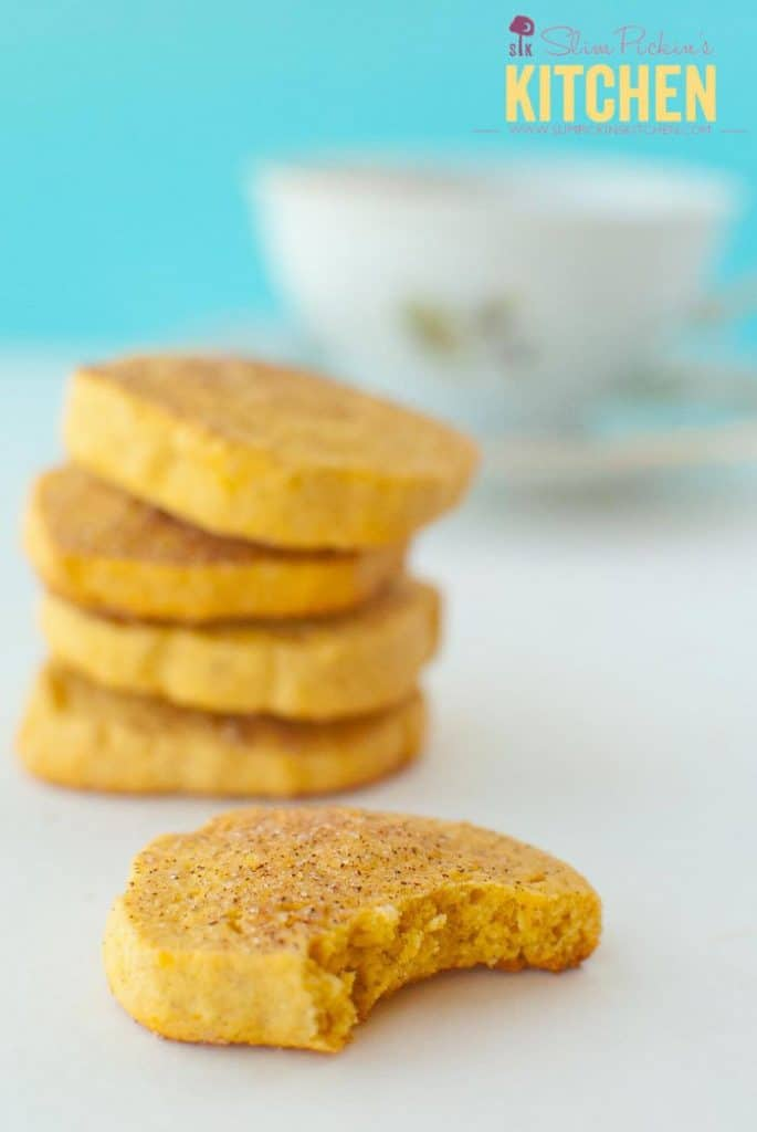 Oh yes! Just what we need to snack on while dinner is cooking. Sweet Potato Snickerdoodles!