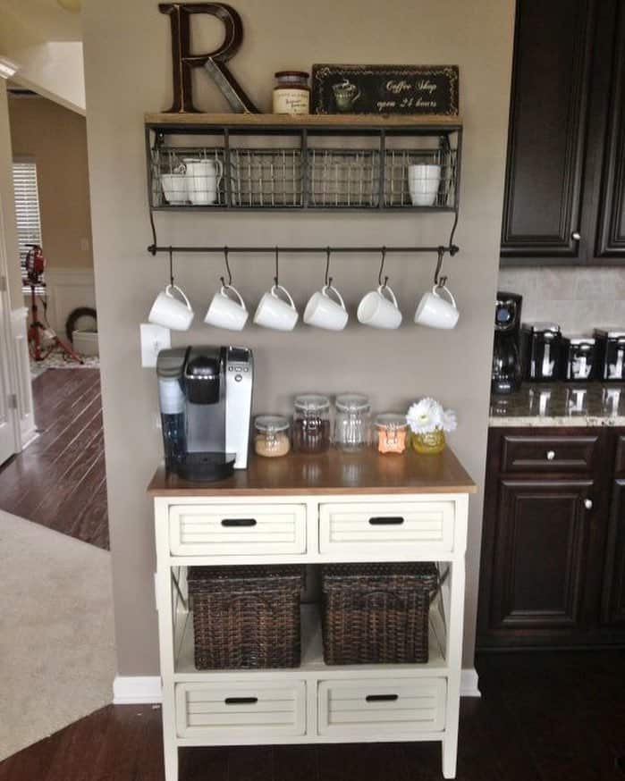 Make use of an unused wall in your kitchen