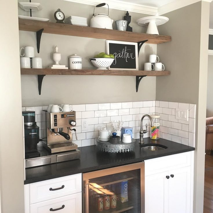 Add a sink and a fridge if you have room