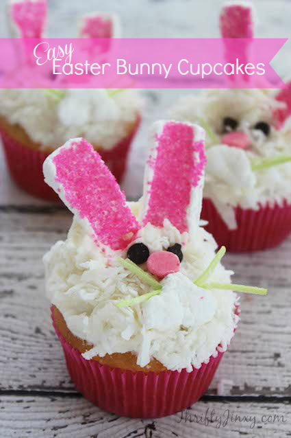 Long Ears Bunny Cupcake