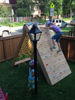 Kids Climbing Play Structure