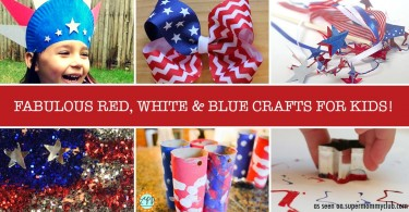 These Fourth of July crafts for kids look like great fun!