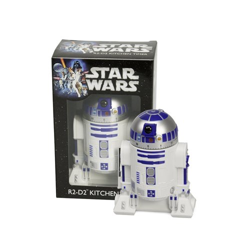 Star Wars Kitchen Timer - R2D2 Countdown Timer with Rotating Head