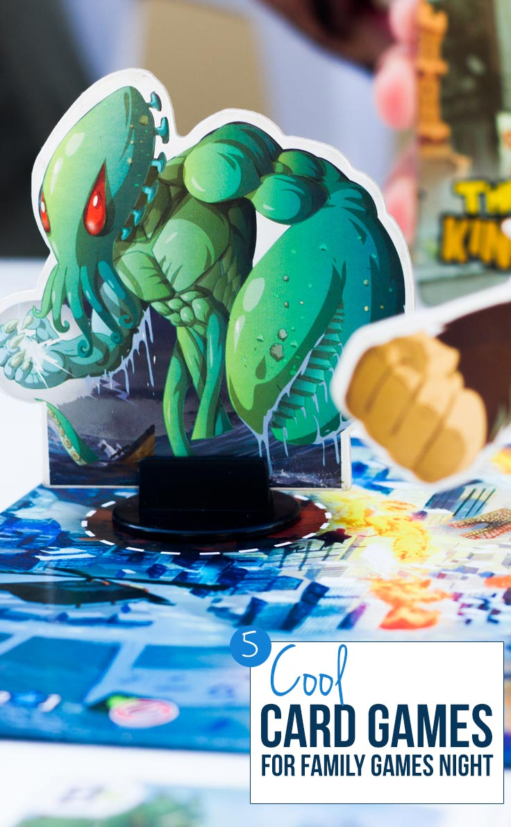 These card games are perfect for family game nights but serious gamers will enjoy them too.