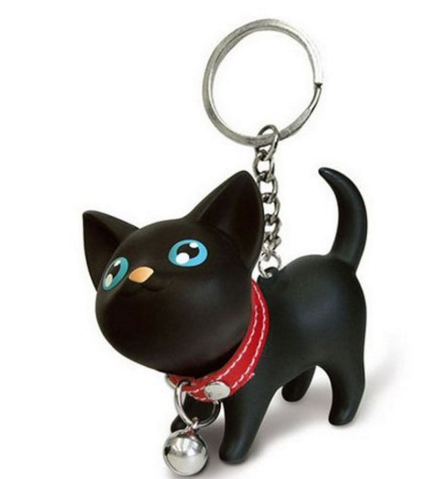 Suppion Cat Kitten Keychain