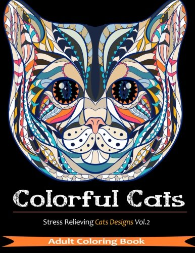 Colourful Cats - Coloring Book
