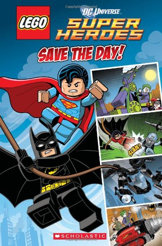 This LEGO super hero comic is the perfect LEGO party favor for kids aged 4-8