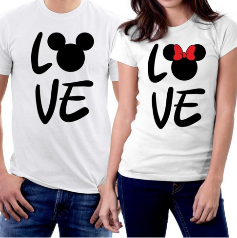 Mickey and Minnie Mouse Couple T-shirts