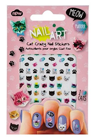 Cat Nail Art Stickers