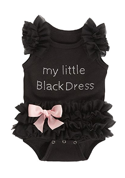 Little Black Dress Onesie