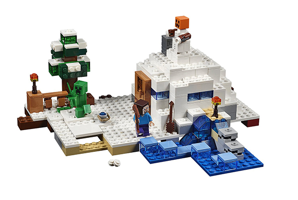 Lego Minecraft The Snow Hideout Building Kit (21120)