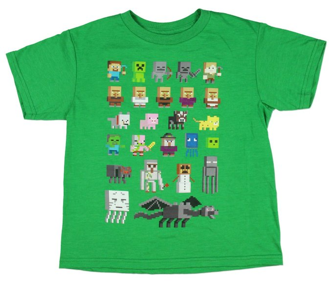 Minecraft Shirts 5 For Fans Of Steve And The Creeper
