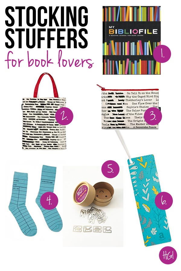 Surprise and delight the book nerd in your life with these thoughtful stocking stuffers for book lovers!