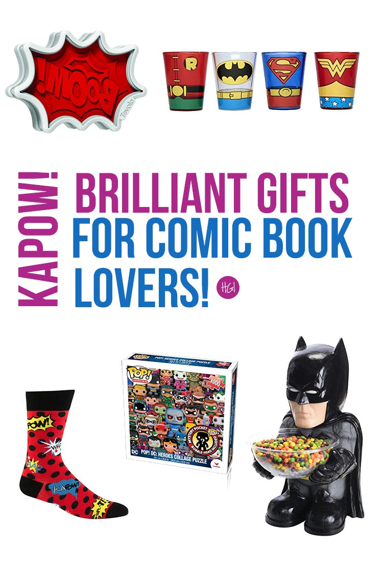 THIS is what I needed! Now I know what to buy my comic lover friend for Christmas!