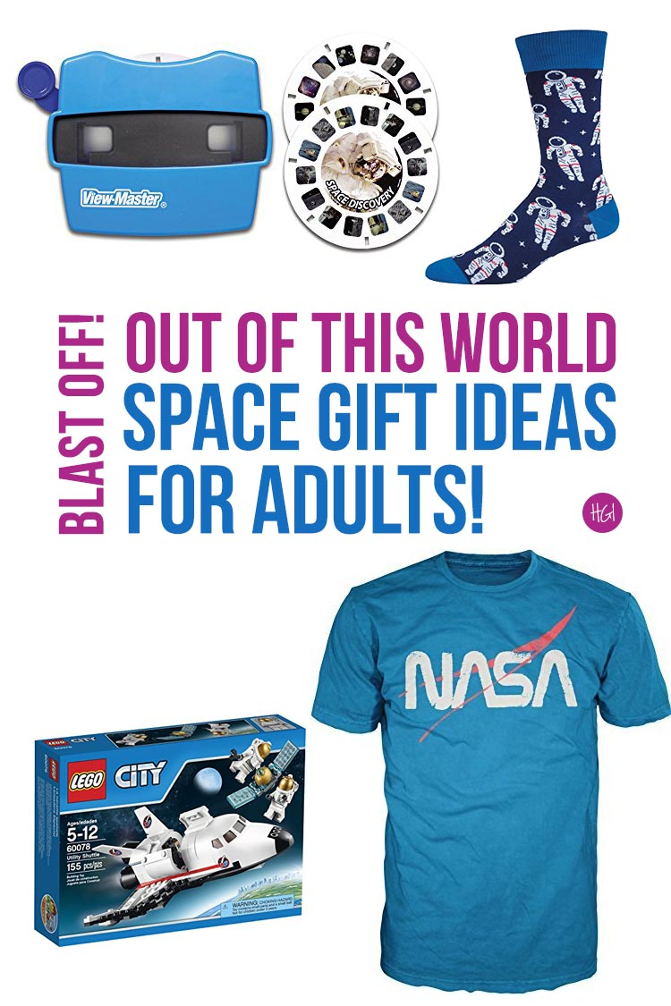 These space gifts for adults are great! I  LOVE those socks!
