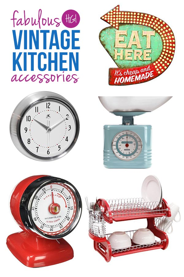 Wow - these retro kitchen accessories are going to make fabulous gift ideas this Christmas!