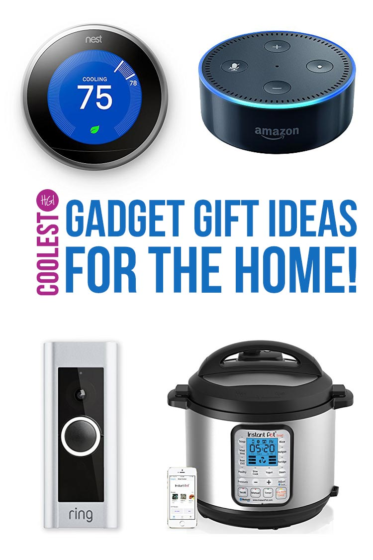 Oh these have to be the COOLEST gadget gift ideas! Perfect for Christmas or a house warming gift!