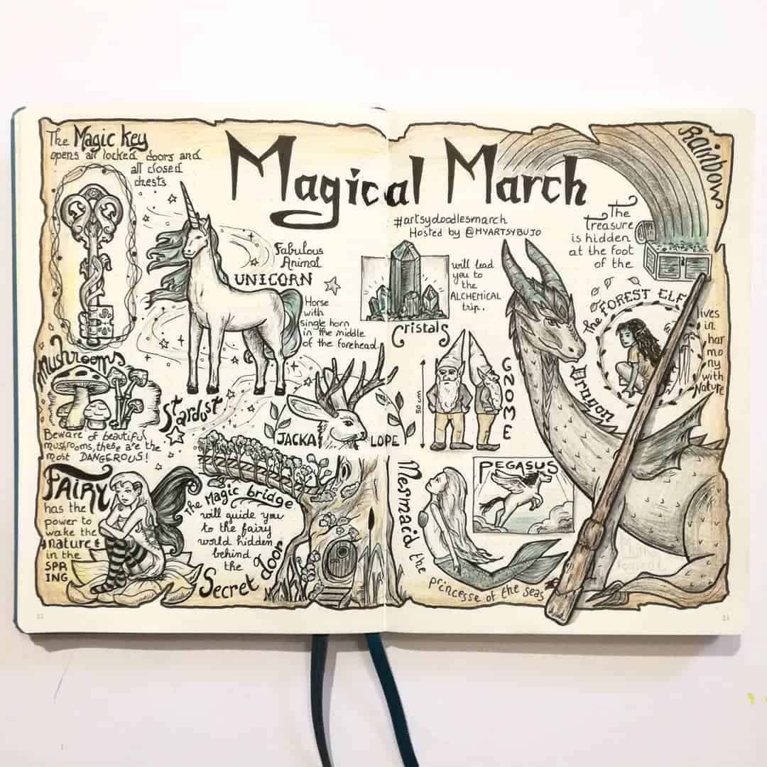Magical March Unicorn Spread