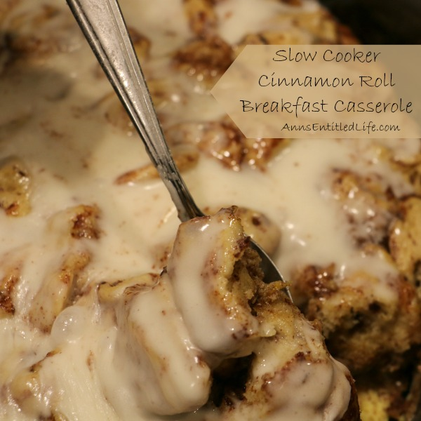 Cinnamon rolls make the perfect breakfast item, but you can make them even more delicious when you use them as a base for a breakfast casserole.