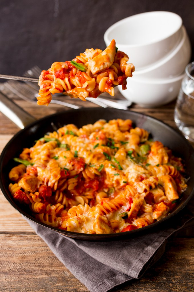 One Pot Pasta | 30 Minute Meals | Chicken