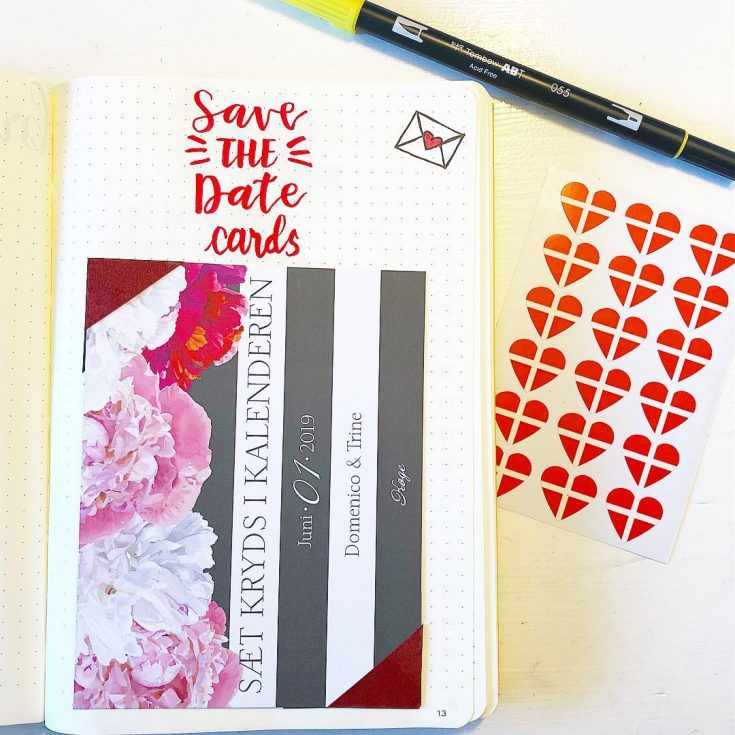 Keep a copy of your wedding stationery