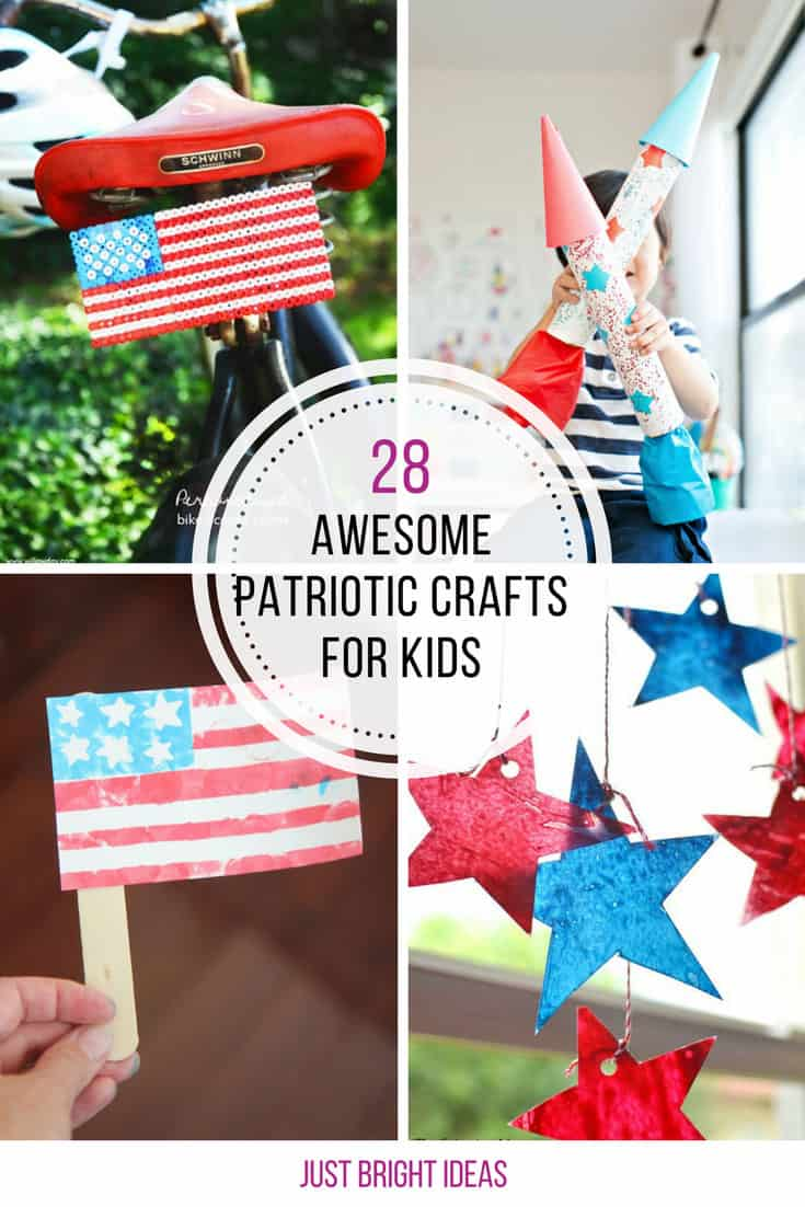 These 4th of July crafts are brilliant! Thanks for sharing!