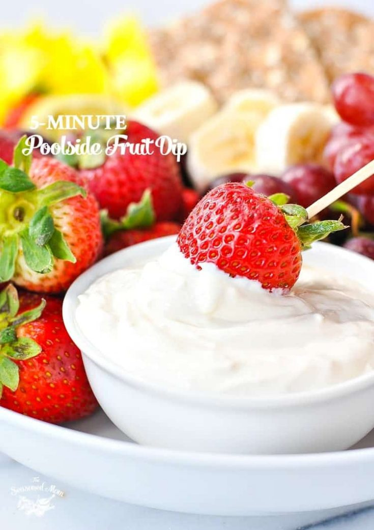 5-Minute Poolside Fruit Dip