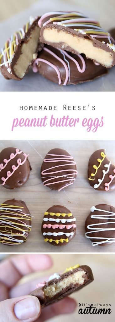 Easter Treats | Peanut Butter | Homemade Eggs | Spring | Party Food