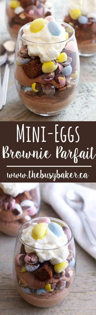 Mini Eggs | Easter Treats | Dessert | Grown Ups | Brownie | Parfait | Party Food