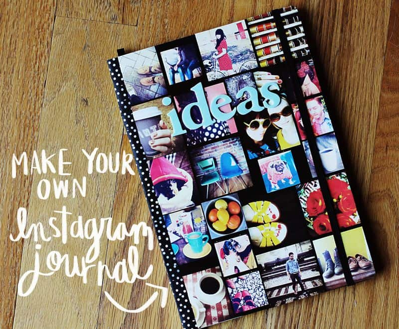 Make Your Own Instagram Journal