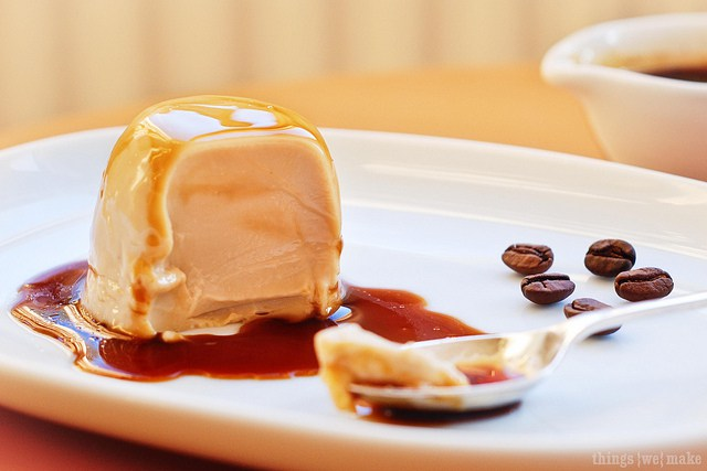 Oh my this Espresso Panna Cotta looks DELICIOUS!