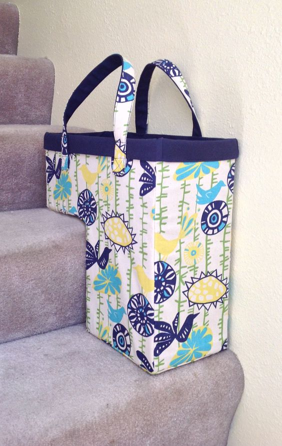 What a brilliant idea! Pop this bag on your stairs and then fill it with all of the things that need to go up - or down!