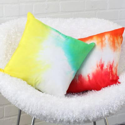 A Rainbow of Pillows