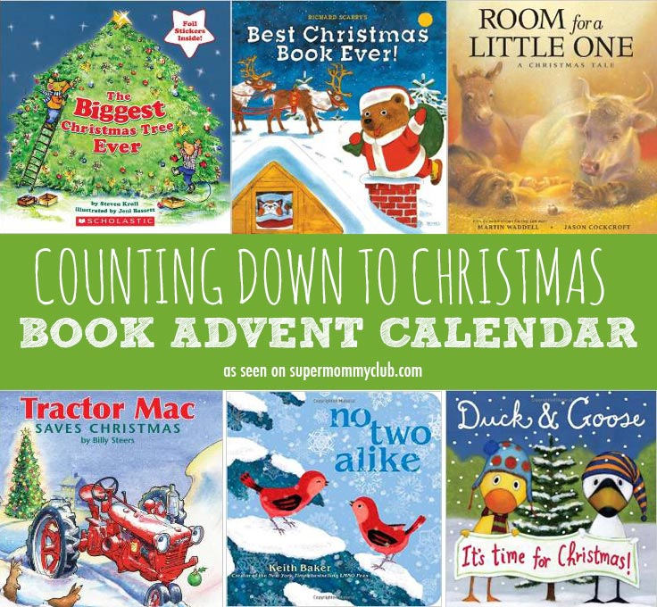 Some wonderful Christmas books for children can be used to make a book advent calendar the whole family will enjoy