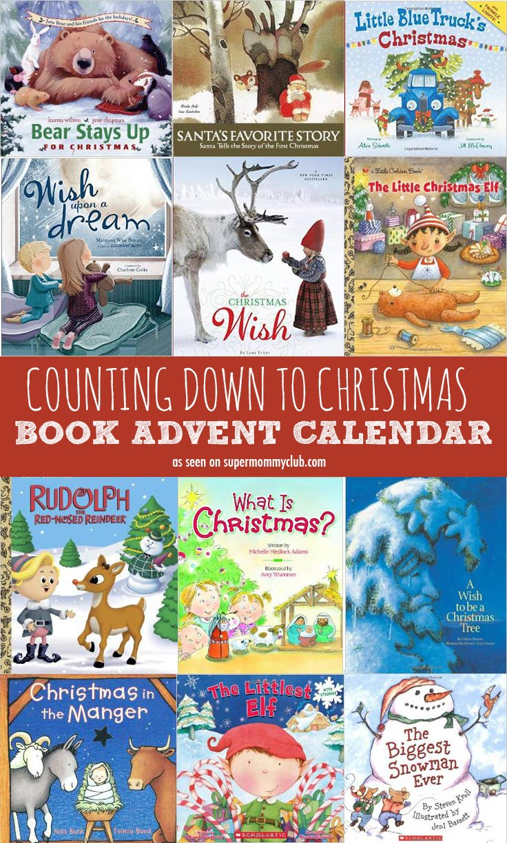 Start a new family tradition and count down to Christmas with a book advent calendar!