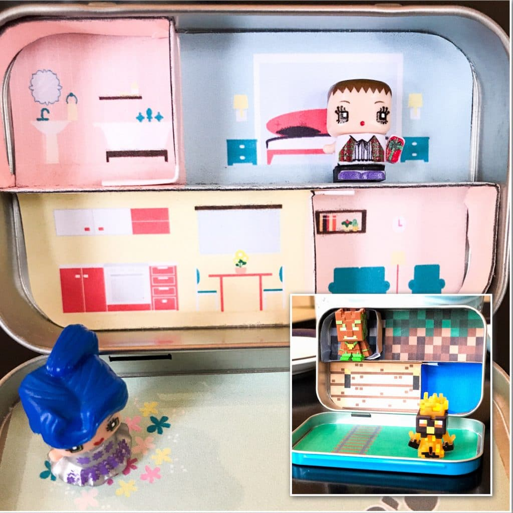DIY Altoid Tin Dollhouse & Minecraft World