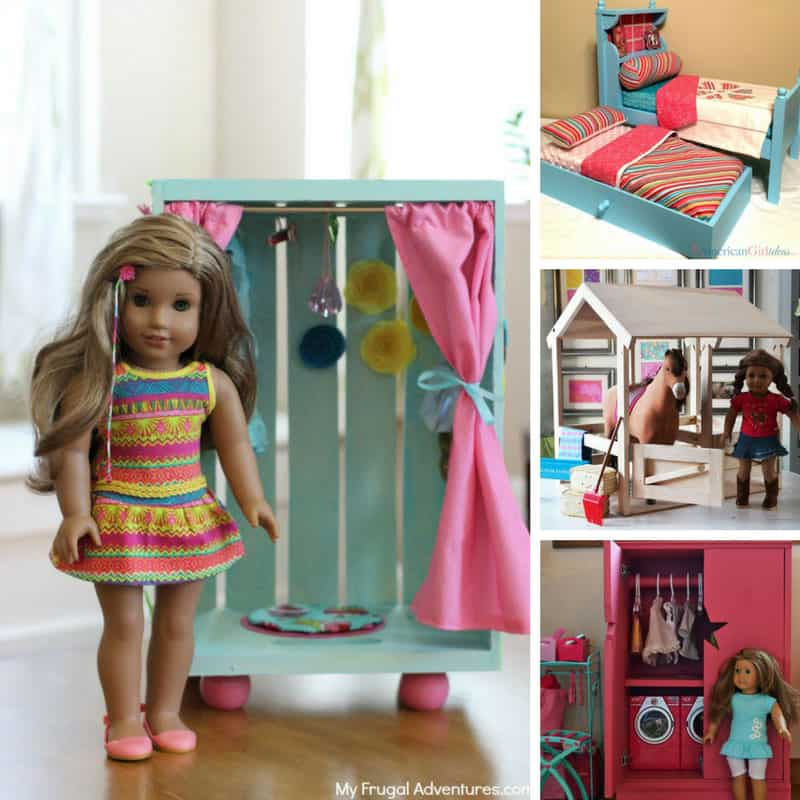 Every American Girl doll dreams of furniture this cool!