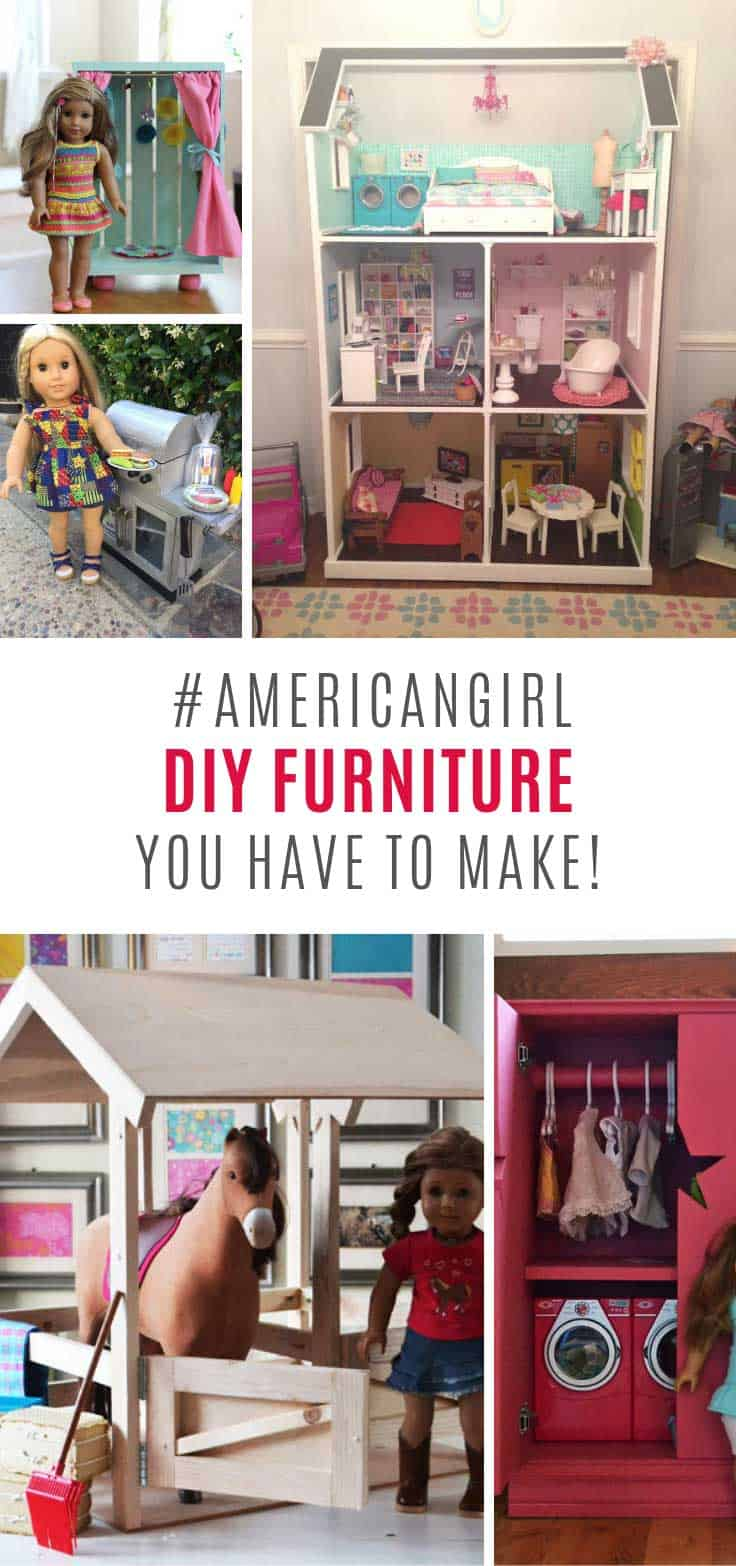 My daughter will go crazy over these American Girl DIY projects!