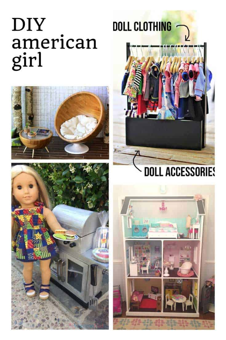 Oh so many cute American Girl Ideas to DIY!