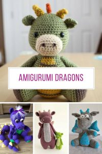 These Amigurumi Dragons are so cute! Thanks for sharing!