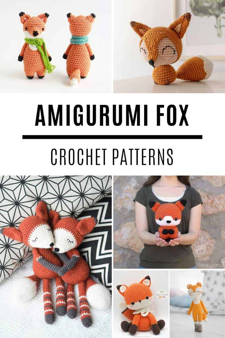 15 Crochet Fox Patterns - Crochet News | 1102x735