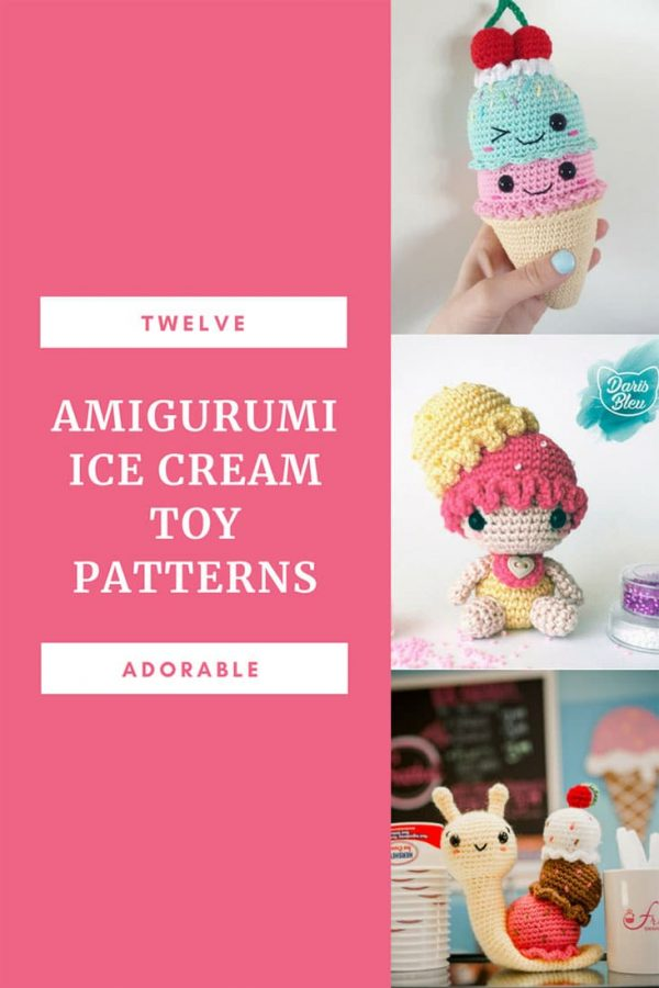 Amigurumi Ice Cream Crochet Patterns