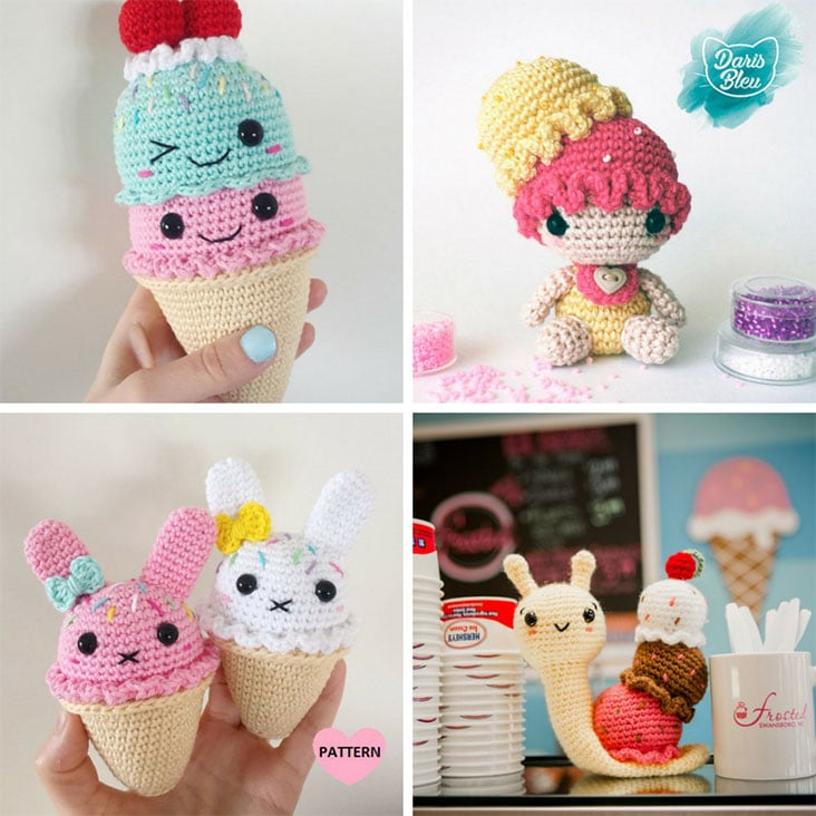 Amigurumi Ice Cream Patterns