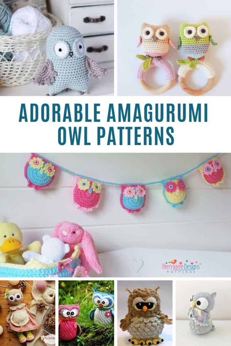 These amigurumi owl patterns are ADORABLE!