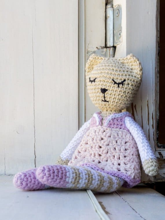 Amigurumi Sleepy Cat