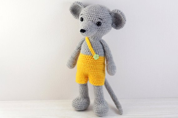 Amigurumi Mouse Doll