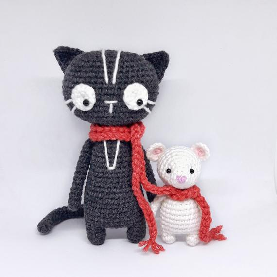 Amigurumi Cat and Mouse Pattern